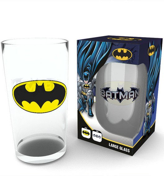 szklanka DC COMICS - BATMAN LOGO