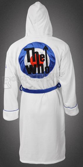szlafrok THE WHO - WHITE LOGO
