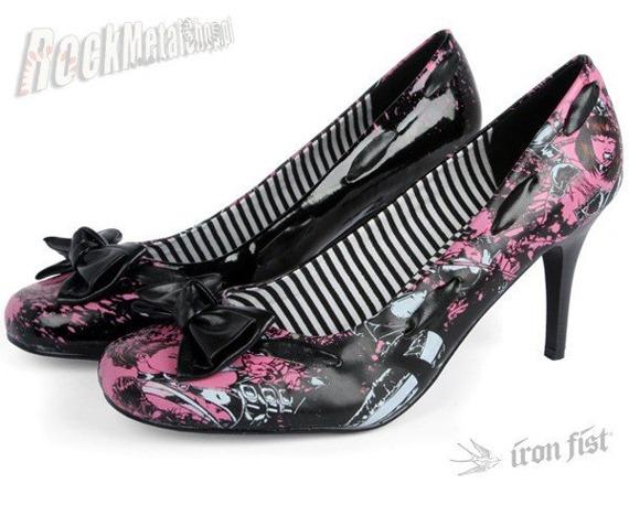 szpilki IRON FIST (Ladies Babylon Heell)(BLACK) (IF-8330)  '09