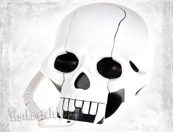 telefon ROCK DADDY - SKULL SHAPE WHITE (92004-003)