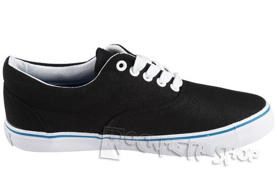 tenisówki NEW AGE - BLACK-BLUE (086)