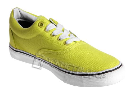 tenisówki NEW AGE - NEON GREEN (086)