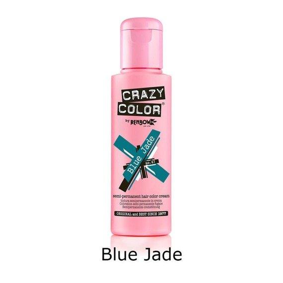 toner do włosów CRAZY COLOR - BLUE JADE [67]