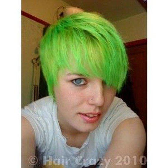 toner do włosów ZIELONY UV
