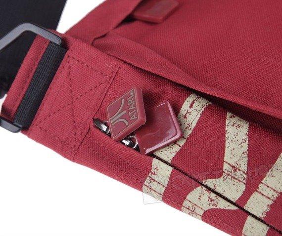 torba MESSENGER BAG - ATARI (RED JAPANESE)
