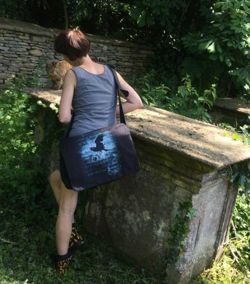 torba na ramię ALCHEMY GOTHIC NEVERMORE