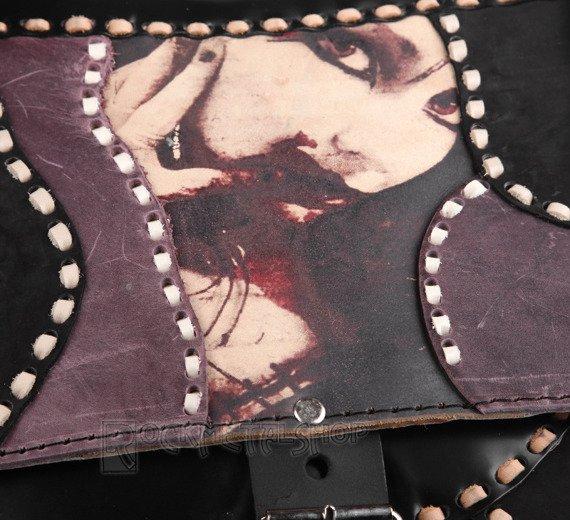 torba skórzana BLOODY KISS