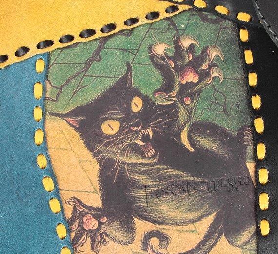 torba skórzana DEMON CAT