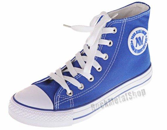 trampki NEW AGE - ROYAL BLUE (082)