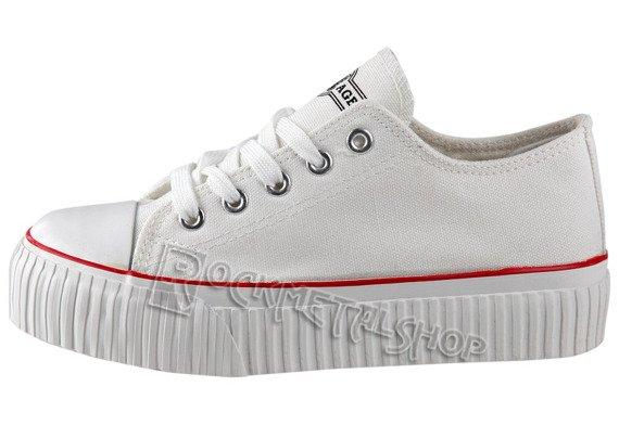 trampki NEW AGE - WHITE (021)
