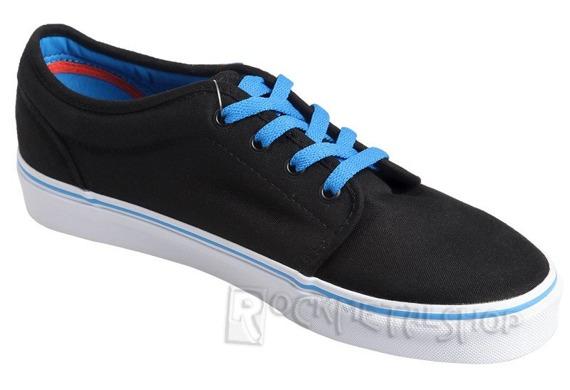 trampki VANS - 106 VULCANIZED POP BLACK BRILLIANT BLUE