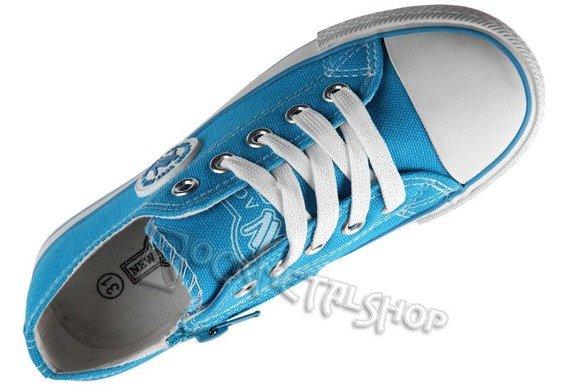 trampki dziecięce NEW AGE - BABY BLUE (083K)
