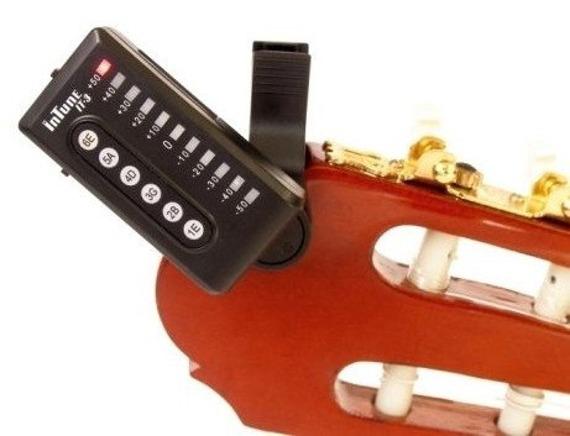 tuner do gitary i basu INTUNE IT-3 na klips
