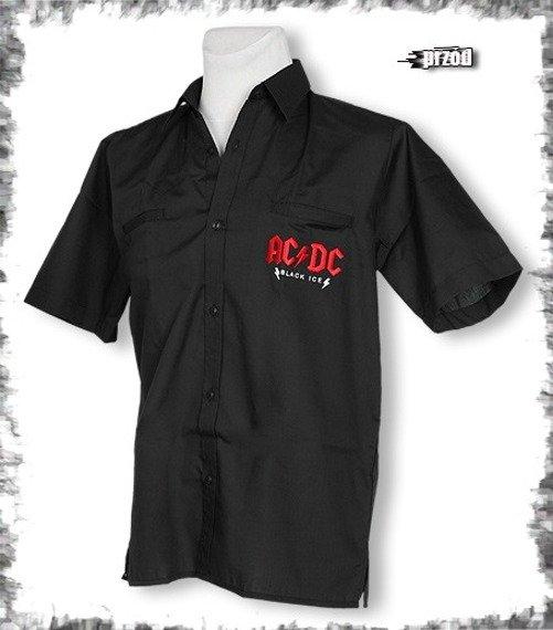 workshirt AC/DC - BLACK ICE
