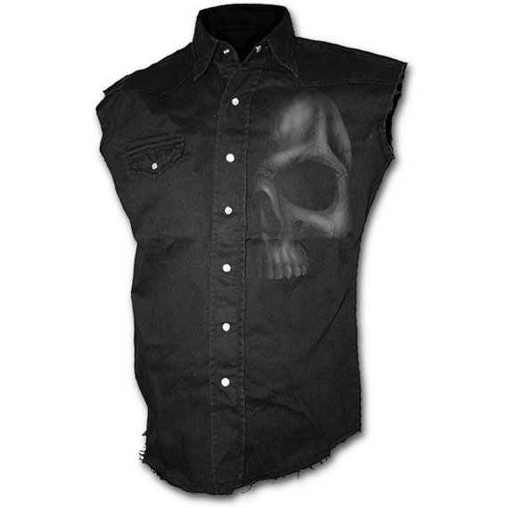 workshirt SHADOW SKULL    bez rękawów