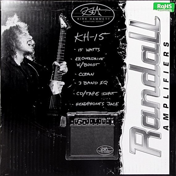 wzmacniacz gitarowy combo RANDALL KH15 KIRK HAMMETT Signature