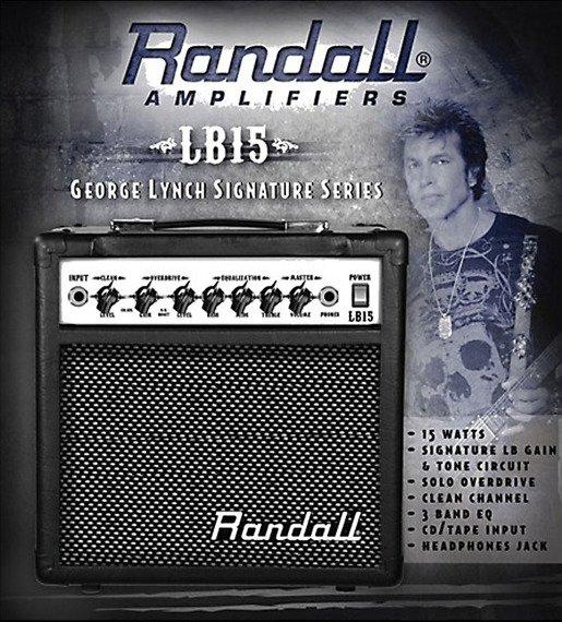 wzmacniacz gitarowy combo RANDALL LB15 George Lynch Signature