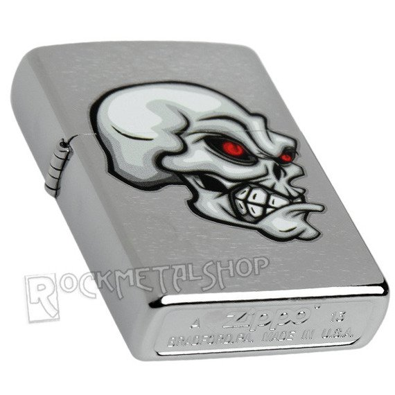 zapalniczka ZIPPO - SKULL WITH RED EYES
