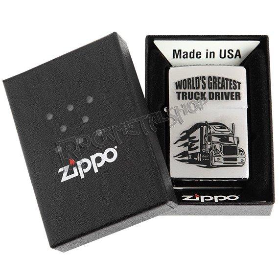 zapalniczka ZIPPO - TRUCK WITH FLAMES