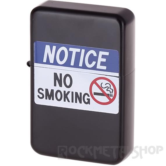 zapalniczka benzynowa NOTICE: NO SMOKING