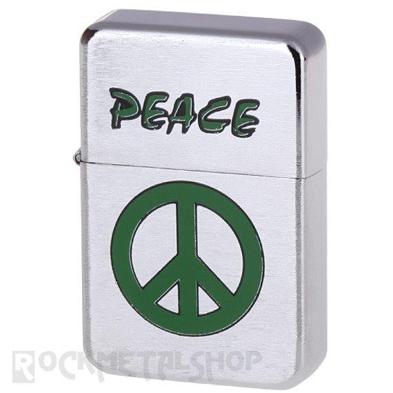 zapalniczka benzynowa PEACE GREEN