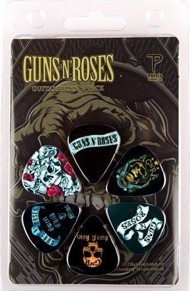 zestaw kostek GUNS N' ROSES LP-GR4 (6 szt)