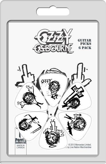 zestaw kostek OZZY OSBOURNE LP-OZ1 (6 szt)