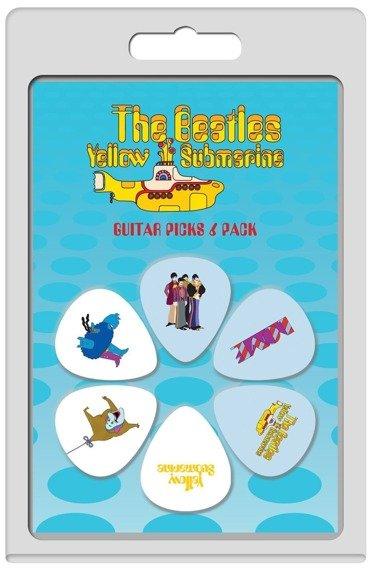 zestaw kostek THE BEATLES - YELLOW SUBMARINE LP-TB3 (6 szt)