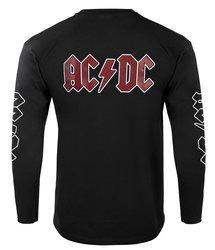 bluza AC/DC - BACK IN BLACK czarna kangurka