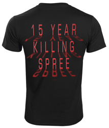 koszulka CANNIBAL CORPSE - 15 YEAR KILLING SPREE
