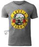 koszulka GUNS N' ROSES - CIRCLE LOGO BURNOUT