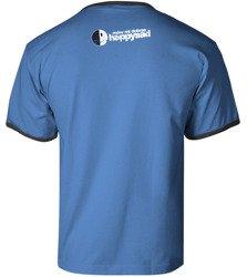 koszulka HAPPYSAD - MÓW MI DOBRZE niebieska