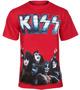 koszulka KISS - METAL LOGO GROUP PHOTO