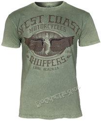 koszulka WEST COAST CHOPPERS - WCC WINGS LOGO, barwiona