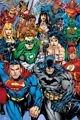 plakat DC COMICS SUPERBOHATEROWIE